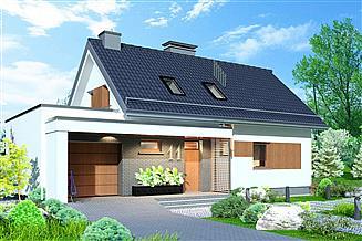 Projekt domu Domidea 58 G ps