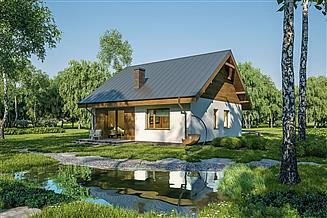 Projekt domu Murator C333g Miarodajny - wariant VII