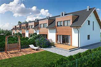Projekt domu Eco 12 szereg