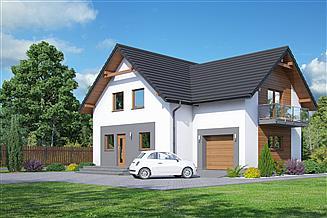Projekt domu Grochowo mg1