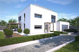 Projekt domu Koge III DCP402b