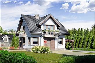 Projekt domu Dom przy Wiosennej 6