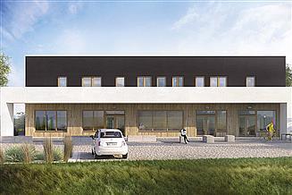 Projekt budynku wielorodzinnego Murator UC69 Budynek mieszkalno-usługowy
