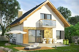 Projekt domu Joga