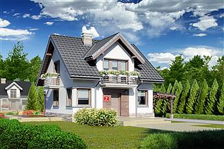 Projekt domu Dom przy Wiosennej 7