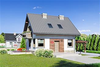 Projekt domu Dom przy Wiosennej 8