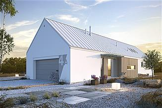 Projekt domu Ekonomiczny 4A