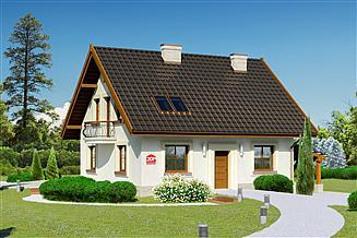 Projekt domu Dom przy Cyprysowej 20 P