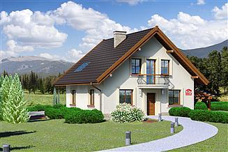 Projekt domu Dom przy Cyprysowej 12 P