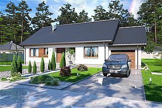 Projekt domu Tamara modern