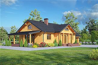 Projekt domu Chmielów 13 dwsgt