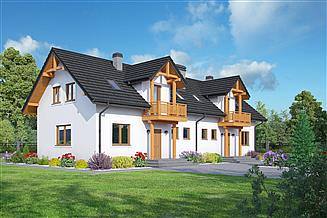 Projekt domu Mirów 88 dws