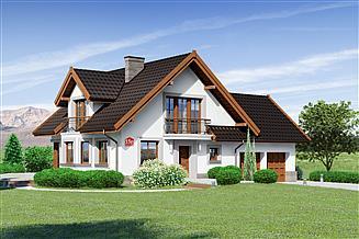 Projekt domu Dom przy Cyprysowej 15 P