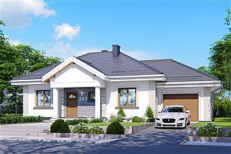 Projekt domu APS 243 + G
