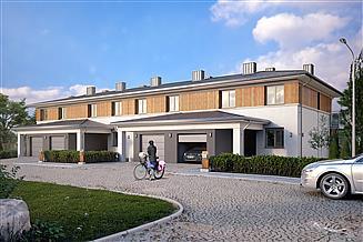Projekt domu Limba zabudowa szeregowa