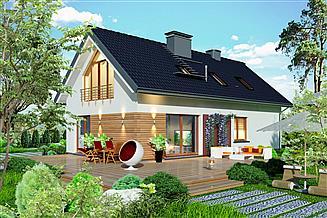 Projekt domu Domidea 58 dG