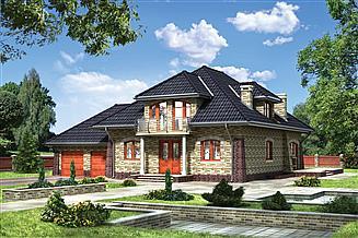 Projekt domu Miłorząb - murowana – klinkier