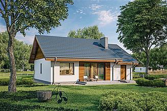 Projekt domu Murator C333m Miarodajny - wariant XII