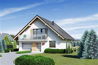 Projekt domu Dom przy Wiązowej 3