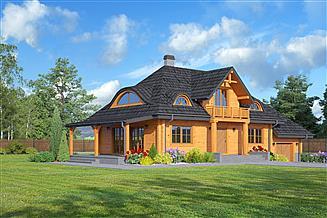 Projekt domu Chmielniki małe dw 65