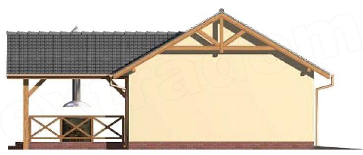 Projekt Garażu G35 Garaż Dwustanowiskowy Altana 4793 M2 Koszt