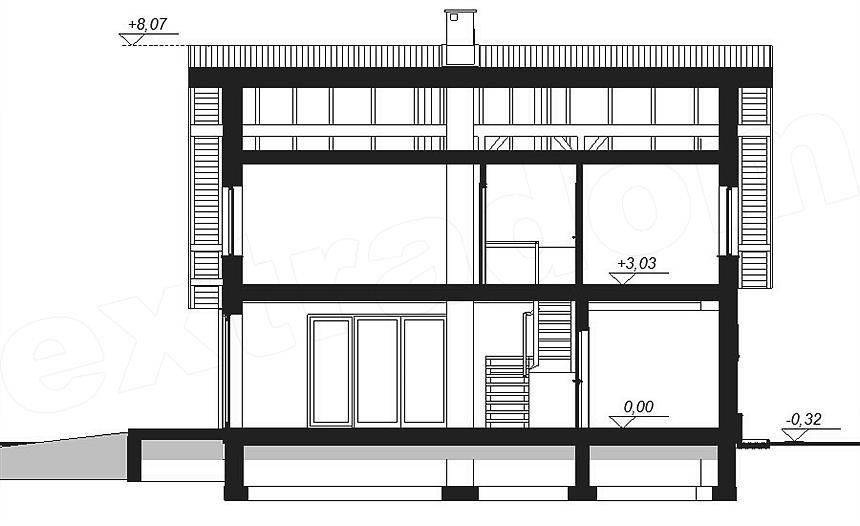 Projekt Domu Armanda 133 85 M2 Koszt Budowy Extradom