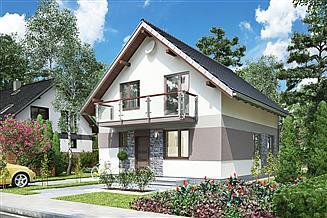 Projekt domu Promyk - murowana – ceramika