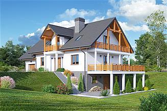 Projekt domu Karowo 3