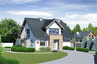 Projekt domu Dom przy Wiosennej 9