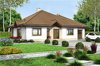 Projekt domu Aframon 2