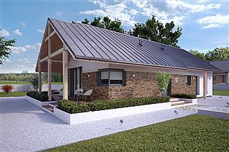 Projekt domu Mahoń 3