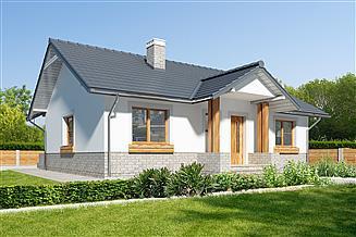 Projekt domu Asti III LMB90b