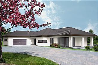 Projekt domu At-129