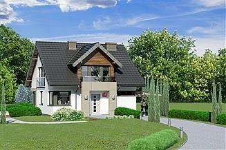 Projekt domu Dom przy Wiosennej 18