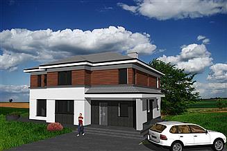 Projekt domu At-167