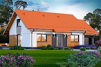 Projekt domu Santia BIS 1M