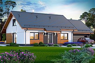 Projekt domu Santia BIS 2M