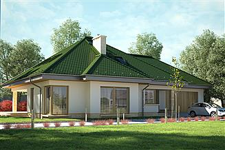 Projekt domu Degalia