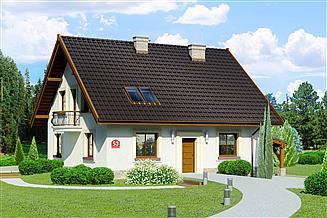 Projekt domu Dom przy Cyprysowej 53