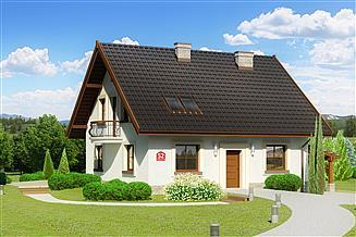 Projekt domu Dom przy Cyprysowej 52