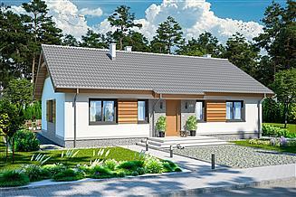 Projekt domu Tracja 2