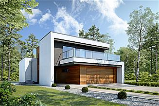 Projekt domu Modularny D28
