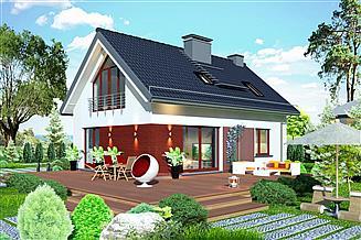 Projekt domu Domidea 58 w2