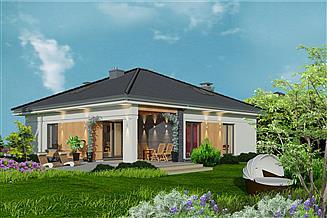 Projekt domu Domidea 1 w2