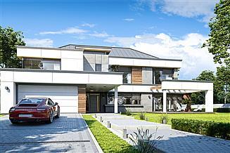 Projekt domu Willa Floryda 4