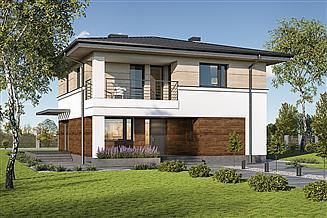 Projekt domu Murator M220b Bez tajemnic - wariant II