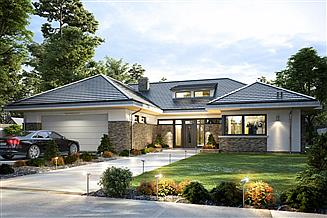 Gotowe Projekty Domów Z Antresolą Gwarancja Najniższej Ceny Extradom