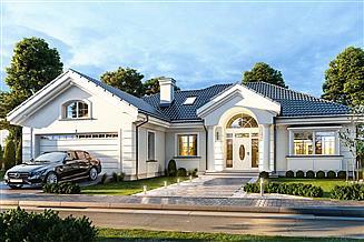 Projekt domu Willa parkowa B