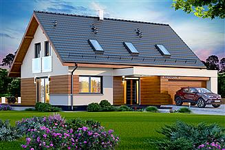 Projekt domu Kaminero