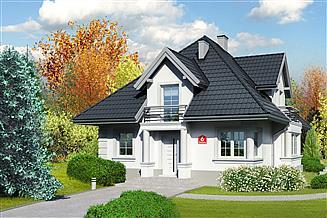 Projekt domu Dom przy Sielskiej 6